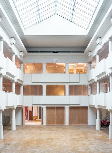 Lucid B architecten Museum Elsene 04