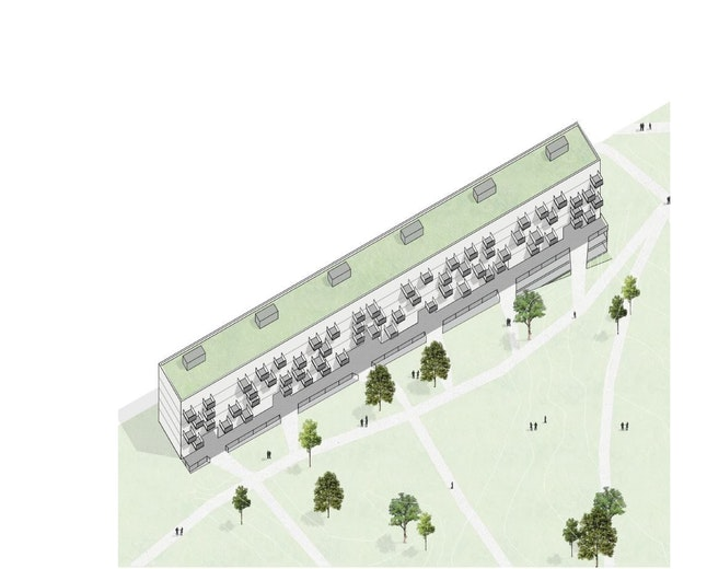 Anemoon copyright B architecten zone PIT gebouw