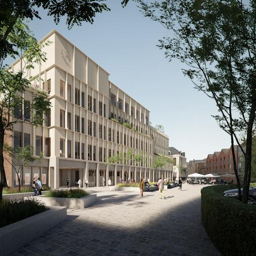 B architecten Roeselare Botermarkt THIRD