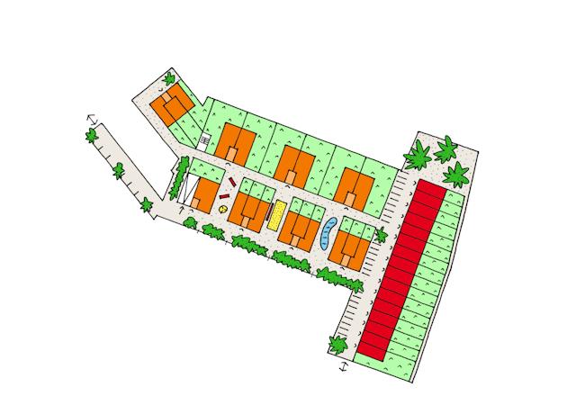 Condominium Wommelgem copyright B architecten