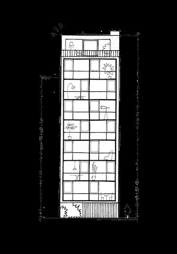 Groepswoning dageraad sketch