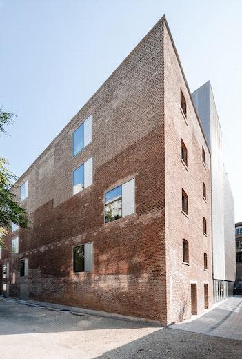 Erasmushogeschool Brussels copyright b architecten and bevk perović arhitekti 03