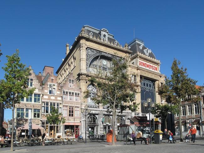 Gent Vrijdagmarkt Bondmoyson foto5 2010 10 10 11 11