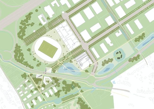 KVK Stadium copyright B architecten and BRUT