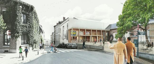 Museum Elsene Copyright B Architecten 2
