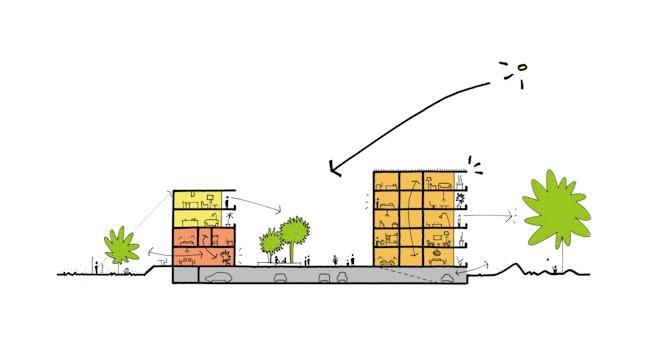 Neerland Barchitecten sketch