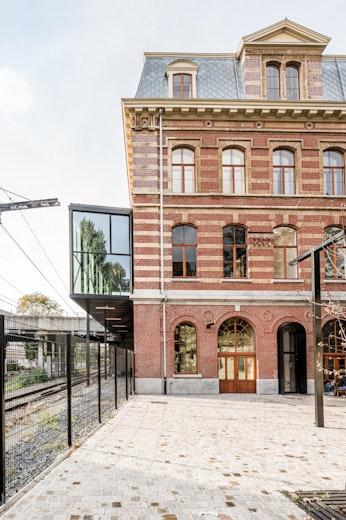 Station Laken copyright b architecten 02