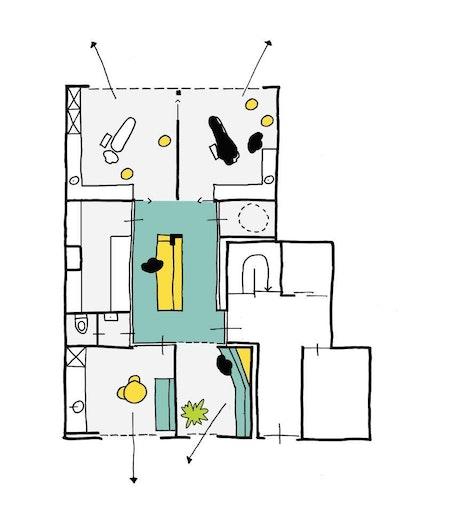 Schets Copyright B Bis Architecten